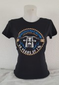 CHOSEN FEW MC FRANCE TEE SHIRT WOMEN 30 YEARS OF 1%