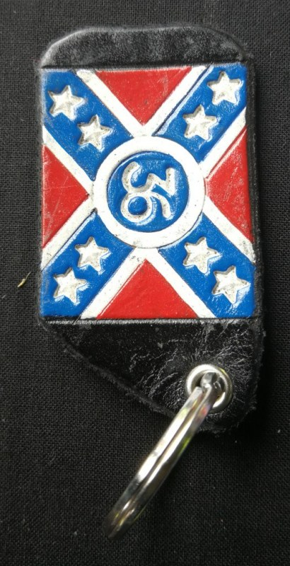 Keys handler Rebel flag